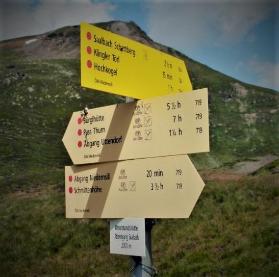 Bergweg Kategorien