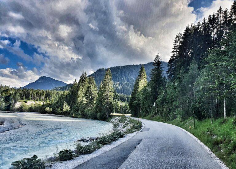 Straße Karwendel